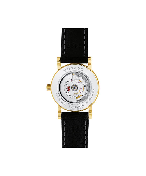 MOVADO Red Label0607010 – Women's 26 mm automatic strap watch - Back view