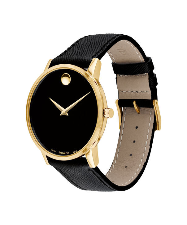 MOVADO Museum Classic0607195 – Men's 40 mm strap watch - Side view