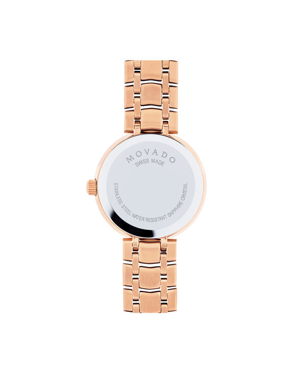 MOVADO 1881 Quartz0607100 – Women's 28 mm quartz 2-hand - Back view
