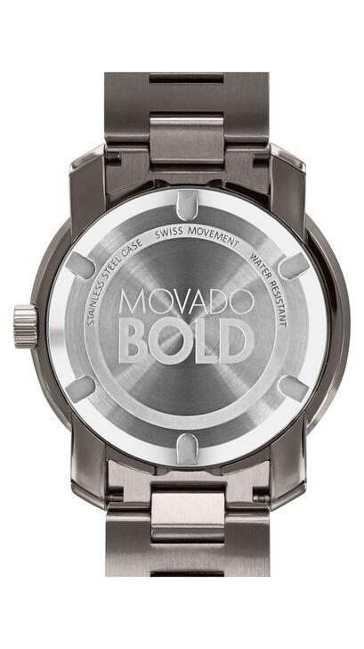 MOVADO Movado BOLD3600259 – 42.5 mm Metals bracelet watch - Back view