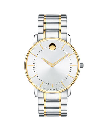 MOVADO Movado Thin Classic0606689 – Men's thin 40 mm bracelet watch - Front view