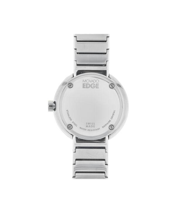 MOVADO 摩凡陀瑞界系列 (Movado Edge)3680012 – 女士34mm钢带腕表 - 后视图