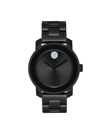 MOVADO Movado BOLD3600535 – 36 mm ceramic bracelet watch - 正视图