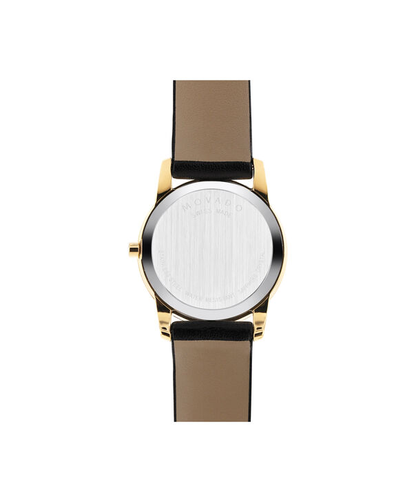 MOVADO Museum Classic0606877 – Women's 28 mm strap watch - Back view