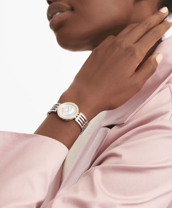 MOVADO 爱莎 (Esperanza)0607052 – 女士28毫米表链腕表 - 另一种观点