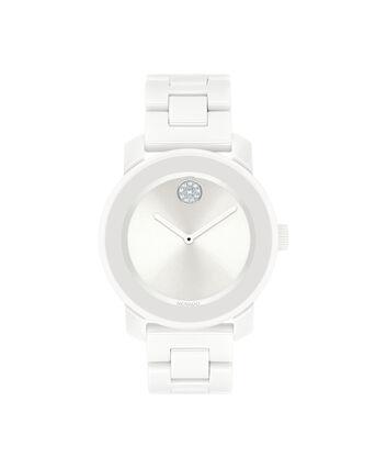 MOVADO Movado BOLD3600534 – 36 mm ceramic bracelet watch - 正视图