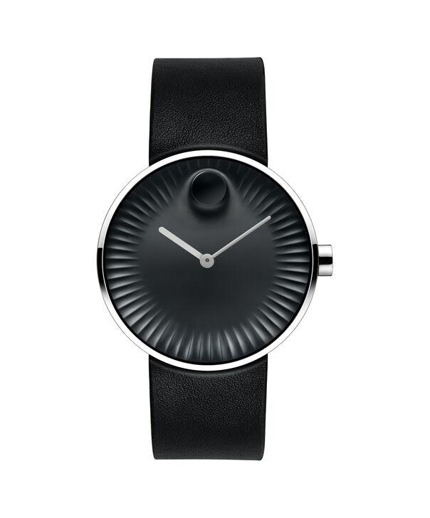 摩凡陀 | 男士摩凡陀Edge大号不锈钢腕表,黑色表盘