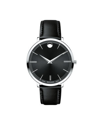 MOVADO Movado Ultra Slim0607090 – Mid-Size 35 mm strap watch - Front view