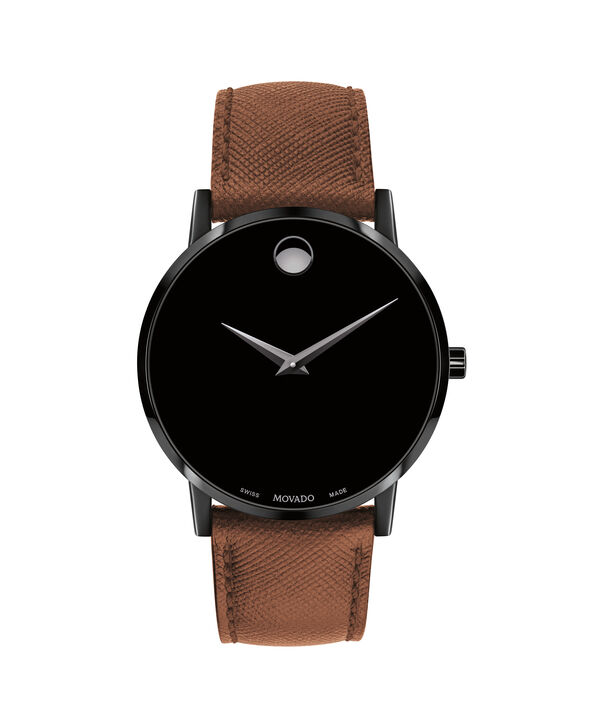 MOVADO Museum Classic0607198 – Men's 40 mm strap watch - Front view