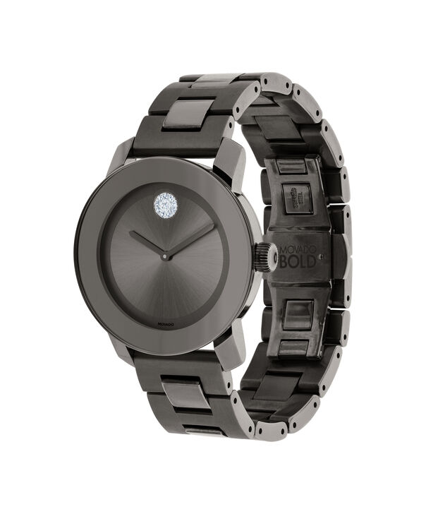 MOVADO Movado BOLD3600103 – 36 mm Metals bracelet watch - Side view