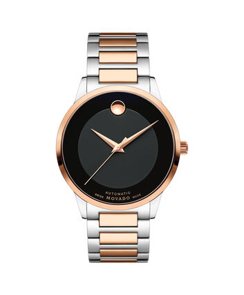 MOVADO Modern Classic0607133 – Men's 39.5 mm automatic 3-hand - Front view