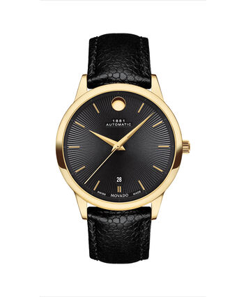 MOVADO 1881 Automatic0607455 – 39mm 1881 Automatic on Strap - Front view