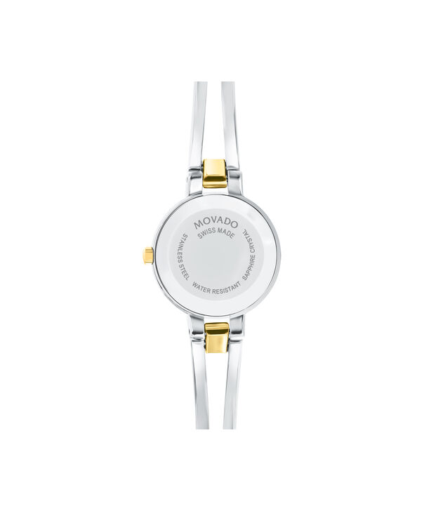 MOVADO Amorosa0607184 – Women's 24 mm bangle watch - Back view