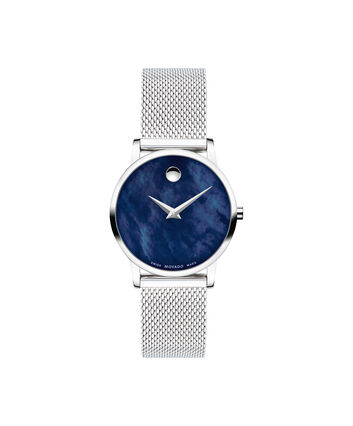 MOVADO Museum Classic0607425 – 28mm Museum Classic on Mesh - Front view