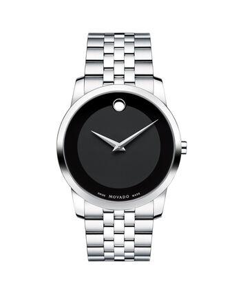 MOVADO Museum Classic0606504 – Men's 40 mm bracelet watch - Front view