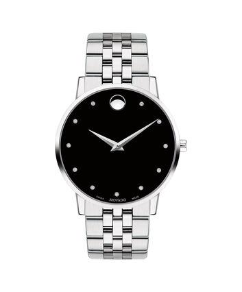 MOVADO Museum Classic0607201 – Men's 40 mm bracelet watch - Front view