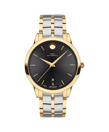 MOVADO 1881 Automatic0607463 – 39mm 1881 Automatic on Bracelet - Front view