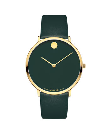 MOVADO Modern 470607260 – Movado.com EXCLUSIVE 40mm strap watch - Front view