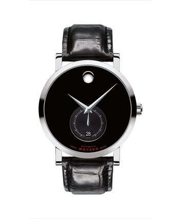 MOVADO Red Label0607370 – 42mm Red Label with New Complication - Front view