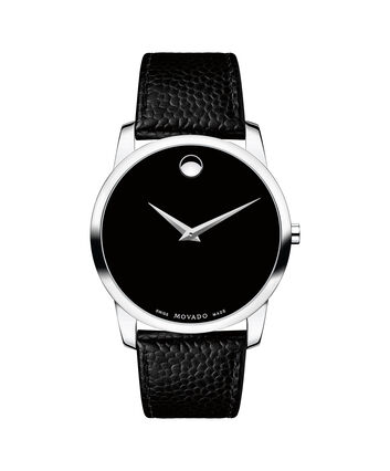 bcb297a3f 0607194. MOVADO Museum Classic 0607012 – Men's 40 mm strap watch - Front  view