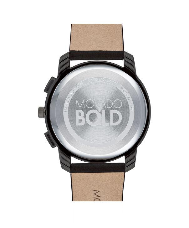 MOVADO Movado BOLD3600632 – 42mm Movado BOLD Thin Chronograph on Strap - Back view