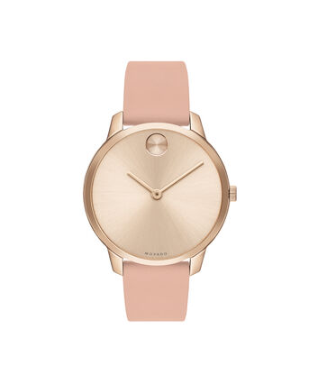 MOVADO Movado BOLD3600594 – 35mm BOLD Thin on Strap - Front view