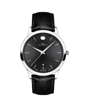 MOVADO 1881 Automatic0607453 – 39mm 1881 Automatic on Strap - Front view
