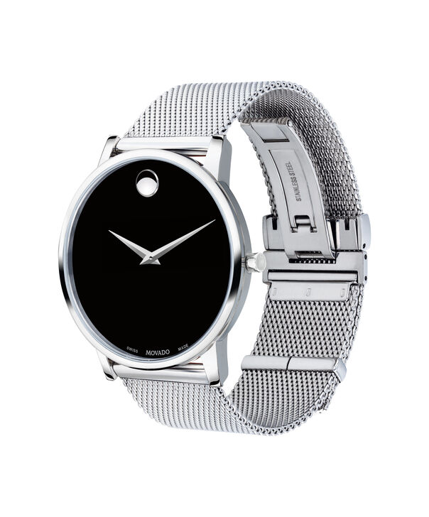 MOVADO Museum Classic0607219 – Men's 40 mm bracelet watch - Side view