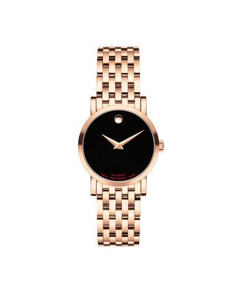 MOVADO 瑞红 (Red Label)0607064 – Women's 26 mm automatic bracelet watch - 正视图