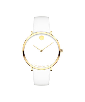 MOVADO 70th Anniversary0607138 – Mid-Size 35 mm strap watch - Front view