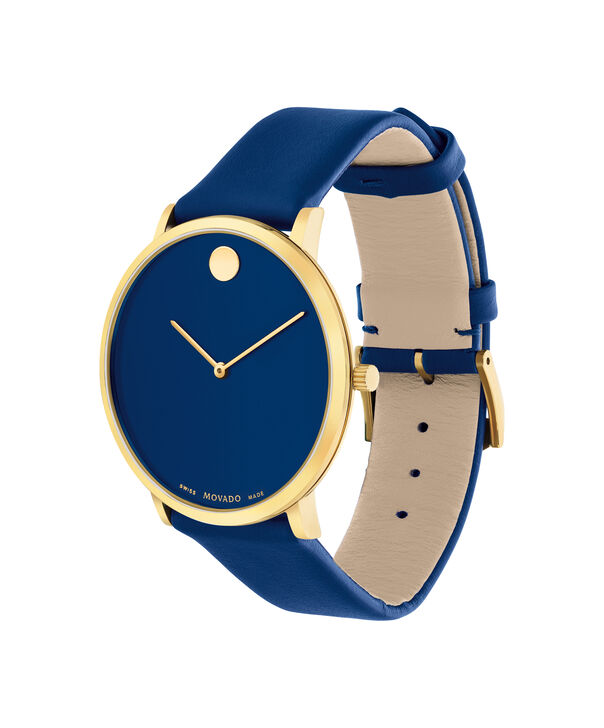 MOVADO Modern 470607254 – Movado.com EXCLUSIVE 40mm strap watch - Side view
